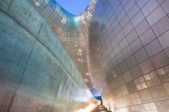 Architettura moderna della plaza di Dongdaemun Immagine Stock