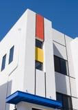 Architettura moderna della residenza Immagine Stock Libera da Diritti