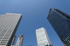 Architettura moderna di affari, tecnologia alta tecnologia a Tokyo Fotografia Stock Libera da Diritti