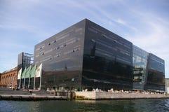 Architettura moderna di Copenhaghen, Danimarca Fotografia Stock Libera da Diritti