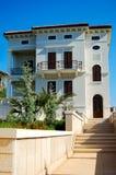 Architettura moderna di Mediterranien Fotografia Stock