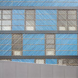Architettura moderna di minimalismo Fotografia Stock Libera da Diritti