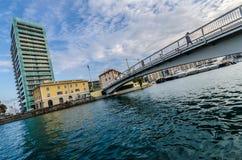 Architettura moderna di Savona fotografia stock