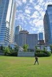Architettura moderna di Vancouver Fotografia Stock