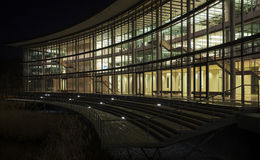 Architettura moderna a Dusseldorf in Germania a Ni Fotografia Stock