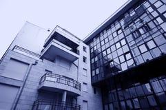 Architettura moderna e vecchia fotografie stock libere da diritti