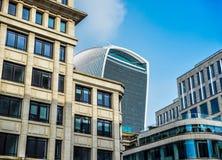 Architettura moderna e vecchia di Londra - del capitale Immagine Stock Libera da Diritti