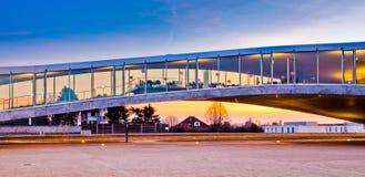 Architettura moderna II della costruzione Fotografie Stock Libere da Diritti