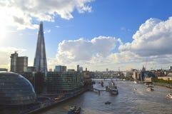 Architettura moderna a Londra Immagini Stock Libere da Diritti