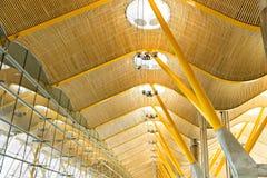 Architettura moderna, luminosa, chiara, industriale Immagini Stock Libere da Diritti