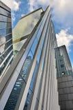Architettura moderna in New York Immagini Stock Libere da Diritti