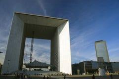 Architettura moderna a Parigi Fotografia Stock Libera da Diritti