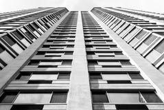 Architettura moderna, progettazione minima ed arte Immagini Stock