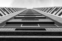 Architettura moderna, progettazione minima ed arte Fotografia Stock