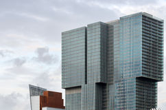 Architettura moderna a Rotterdam immagini stock