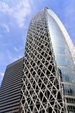 Architettura moderna in Shinjuku, Giappone Fotografia Stock Libera da Diritti