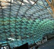 Architettura moderna. Vetro ed acciaio. Fotografia Stock