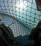 Architettura moderna. Vetro ed acciaio. Immagine Stock Libera da Diritti