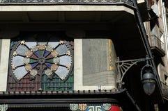 Architettura modernista a Barcellona Fotografia Stock Libera da Diritti