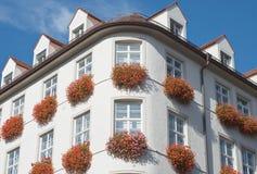 Architettura a Monaco di Baviera Fotografia Stock