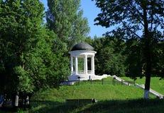 Architettura nella città di Kostroma, padiglione Fotografia Stock