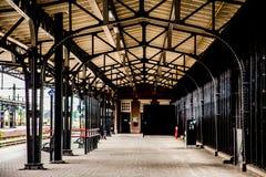 Architettura nella stazione roosendaal Fotografia Stock Libera da Diritti
