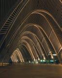 Architettura nello stadio di OAKA, Atene, Grecia immagine stock libera da diritti