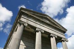Architettura neoclassica Fotografie Stock