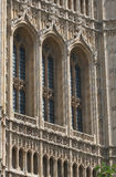 Architettura neogotica fotografia stock