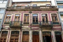 Architettura a Oporto Immagini Stock Libere da Diritti