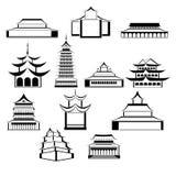 Architettura orientale Fotografia Stock