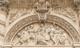 Architettura parigina fotografie stock libere da diritti