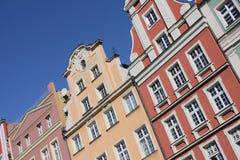Architettura polacca Immagini Stock