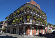 Architettura: Quartiere francese - New Orleans Immagini Stock