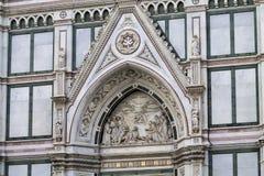 Architettura religiosa di Firenze Fotografie Stock
