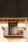 Architettura in Riglos a Huesca, l'Aragona Immagini Stock