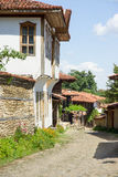 Architettura rurale nazionale bulgara immagine stock libera da diritti