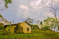 Architettura rurale tipica popolare del Brasile Fotografia Stock Libera da Diritti