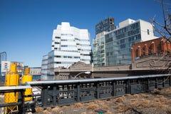 Architettura seguendo l'alta linea Immagine Stock