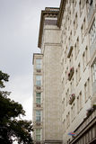 Architettura socialista a Berlino Fotografia Stock