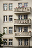 Architettura socialista a Berlino Immagini Stock