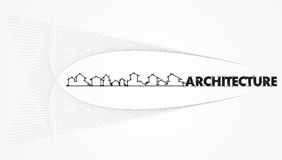 Architettura - società di costruzioni Fotografia Stock Libera da Diritti