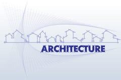 Architettura - società di costruzioni illustrazione vettoriale