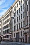 Architettura sovietica 02 di Riga Immagine Stock
