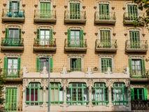 Architettura spagnola & costruzioni Immagini Stock