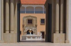 Architettura spagnola di stile Fotografia Stock Libera da Diritti