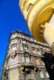 Architettura storica a Budapest Fotografie Stock