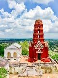 Architettura storica di Phra Nakhon Khiri Khao Wang della pagoda Fotografie Stock Libere da Diritti
