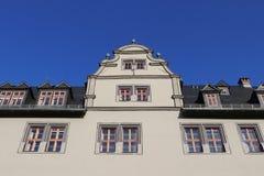Architettura storica di Weimar fotografia stock