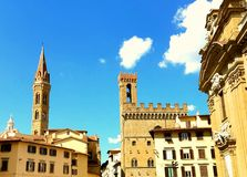 Architettura storica a Firenze Fotografia Stock Libera da Diritti